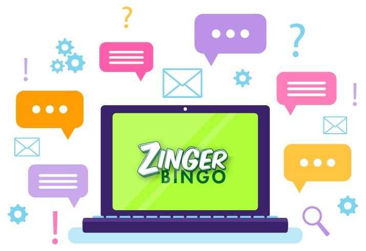 Zinger Bingo Casino - Support