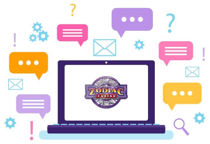 Zodiac Casino - Support
