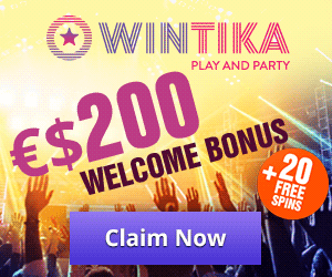 Featured bonus from Wintika Casino